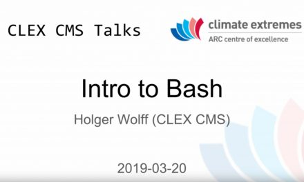 CMS talks: Introduction to Bash – Part 2