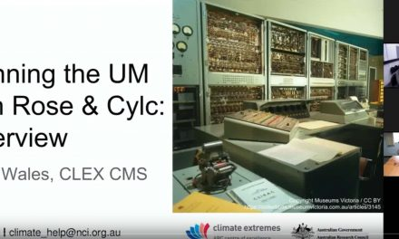 CMS training – running the UM with Rose and Cylc overview
