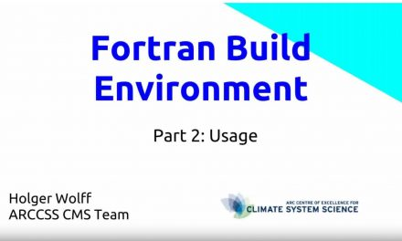 Fortran build environment Part 2